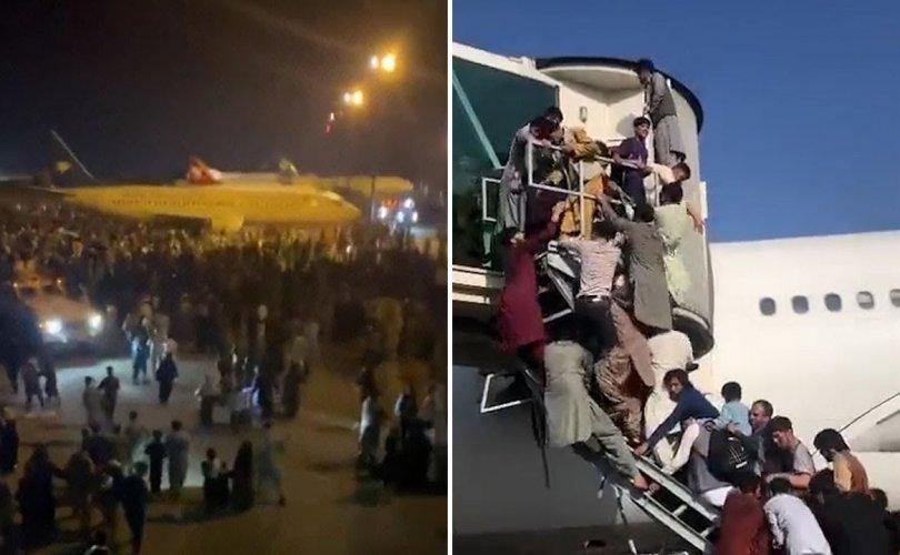 Кабулчууд эх орноосоо дүрвэж байна