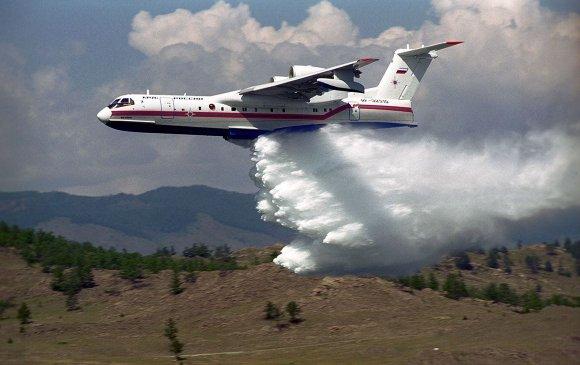 Туркийн ойн түймрийг унтрааж явсан Оросын онгоц осолджээ