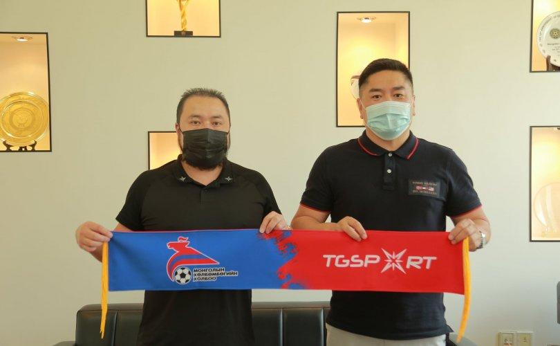 """Үндэсний үйлдвэрлэгч """"TG sport"""" Монголын хөлбөмбөгийн шигшээ багуудын хувцсыг урлана"""