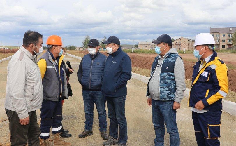 Чингис хот-Бэрх чиглэлийн  авто замын ажил 90 хувьтай үргэлжилж байна