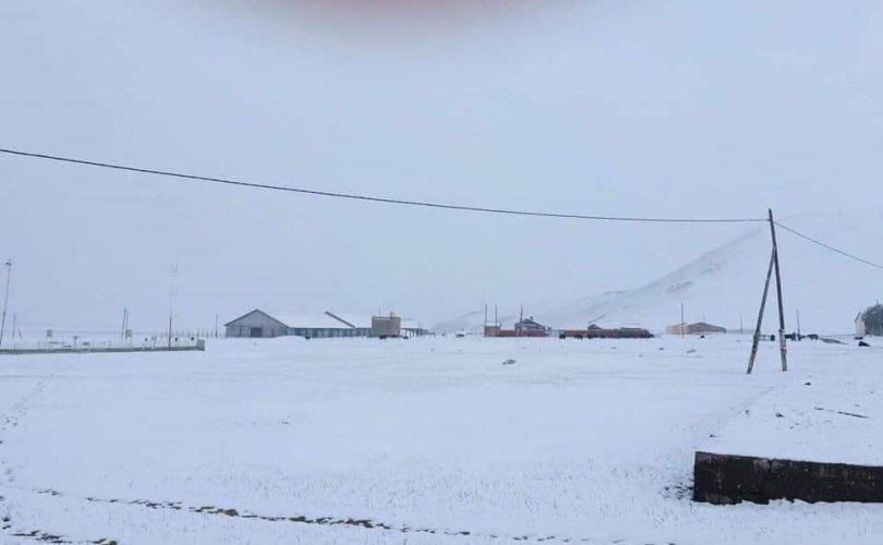 Завхан, Хөвсгөл, Говь-Алтайд цас оржээ