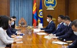 Монгол Улсын Ерөнхийлөгч У.Хүрэлсүхэд Дэлхийн банк группын төлөөлөл бараалхлаа