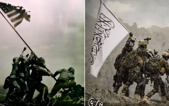 Талибууд АНУ-ын армийн хувцсаар гангарч, америк цэргүүдийг элэглэв
