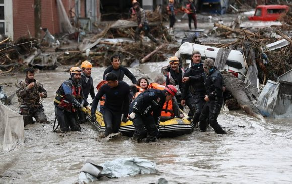 Түймэрт нэрвэгдсэн Туркэд үерт амиа алдагсдын тоо өсчээ