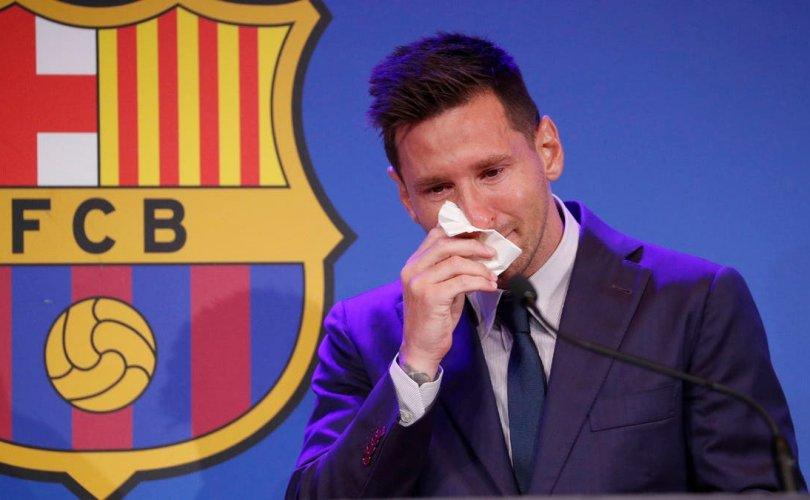 Лионель Месси: Барселонадаа үлдэхийг хүссэн ч чадсангүй