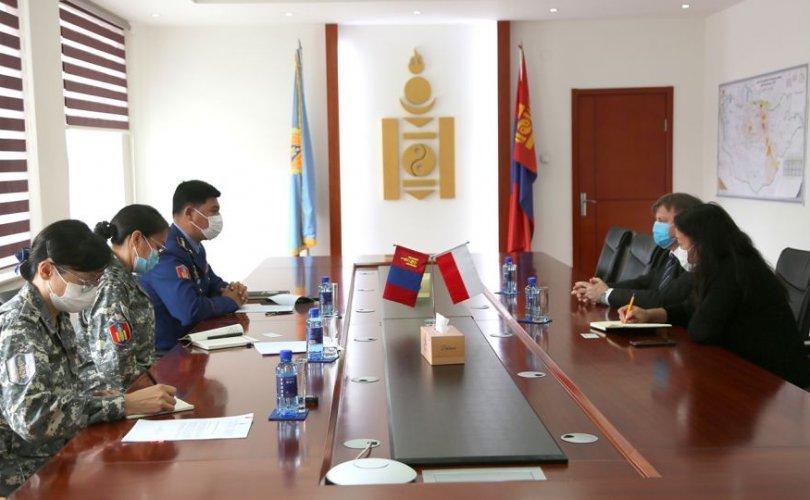 БНПУ-аас Монгол Улсад суугаа Элчин сайдыг хүлээн авч уулзлаа