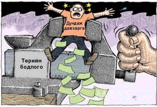 Эрх баригчдад чиглэл өгье: Иргэдээ чирэгдүүлэхээ больчих!