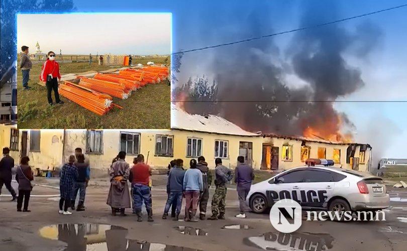 Түймэрт орон гэрээ алдсан 12 өрх шинэ гэртэй боллоо