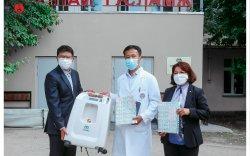 Петровис Группээс 21 аймаг, Багануур дүүргийн эмнэлгүүдэд хүчилтөрөгчийн өтгөрүүлэгч аппарат хандивлалаа