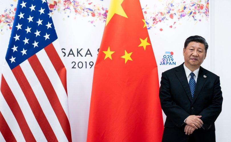 АНУ уруудаж, Хятад өгсөж байна