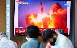 Өмнөд, Умард хоёр Солонгос нэг зэрэг пуужин туршив
