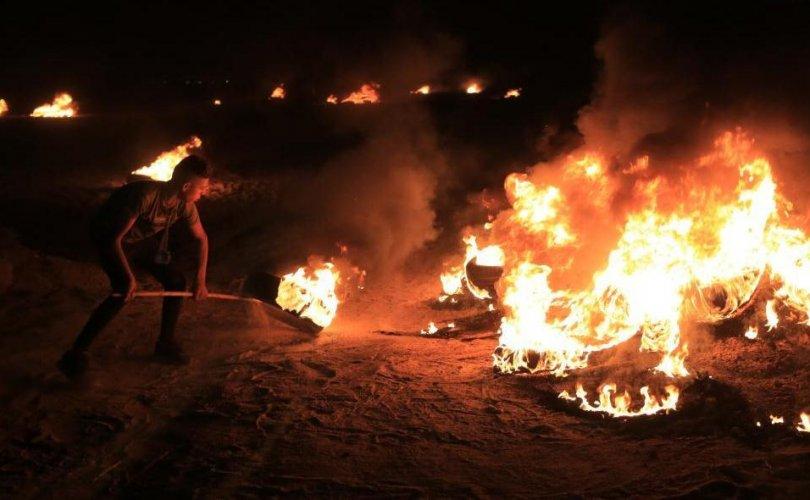 Израилийг эсэргүүцэх хөдөлгөөн Газын зурваст үргэлжилж байна