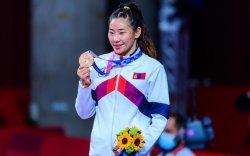 Олимпийн хүрэл медальт Б.Болортуяа дэлхийн аваргад оролцоно