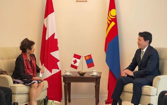 УИХ-ын гишүүн, Монгол- Канадын парламентын бүлгийн дарга Г.Дамдинням Канад улсад ажиллав