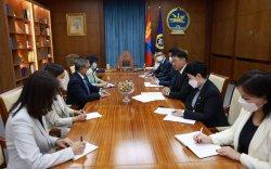 Монгол Улсын Ерөнхийлөгч НҮБ-ын Суурин зохицуулагч Тапан Мишраг хүлээн авч уулзав