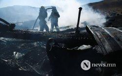 Гал түймрийн улмаас 13 айл орон гэрээ алджээ