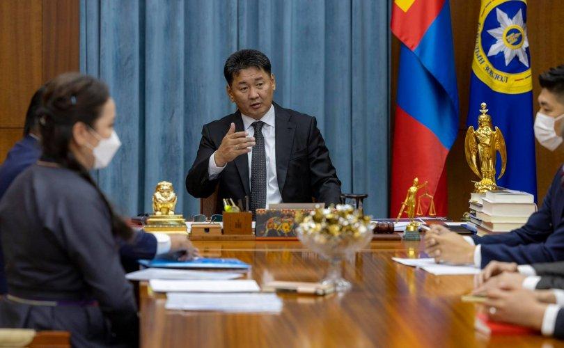 Ерөнхийлөгч Хилийн чанад дахь монголчуудын төлөөлөлтэй уулзав
