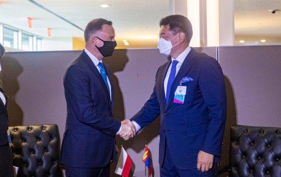 Ерөнхийлөгч БНПУ-ын Ерөнхийлөгч Андрей Дудатай уулзлаа