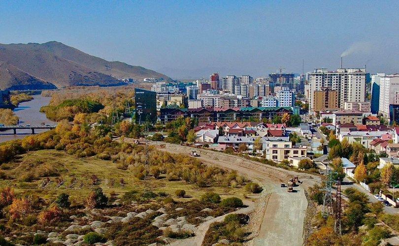 Их монгол улсын гудамжийг Зайсангийн гудамжтай холбох замын ажил үргэлжилж байна