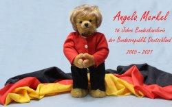 АнгелаМеркелдзориулан бамбарууш бүтээв