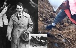 """Археологичид Гитлерийн """"супер зэвсэг""""-ийг 77 жилийн дараа олжээ"""