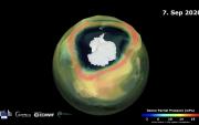 Озоны давхаргынцоорхойөмнөд туйлаас том хэмжээтэй болжээ