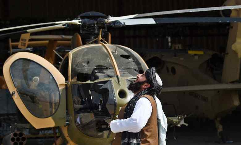 Ажилладаггүй нисдэг тэрэг үлдээсэнд талибууд гомджээ