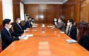 ХЭДХ-ны дарга Б.Энхбаяр АНУ-ын Элчин сайдын яамны төлөөлөлтэй уулзлаа