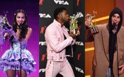 """Жастин Бибер """"MTV"""" хөгжмийн наадмын шагналыг түүв"""
