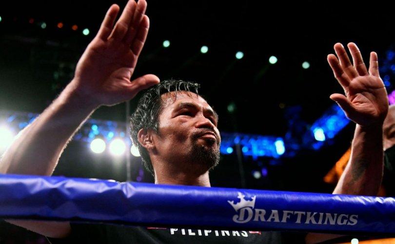 Мэнни Пакьяо: Баяртай бокс
