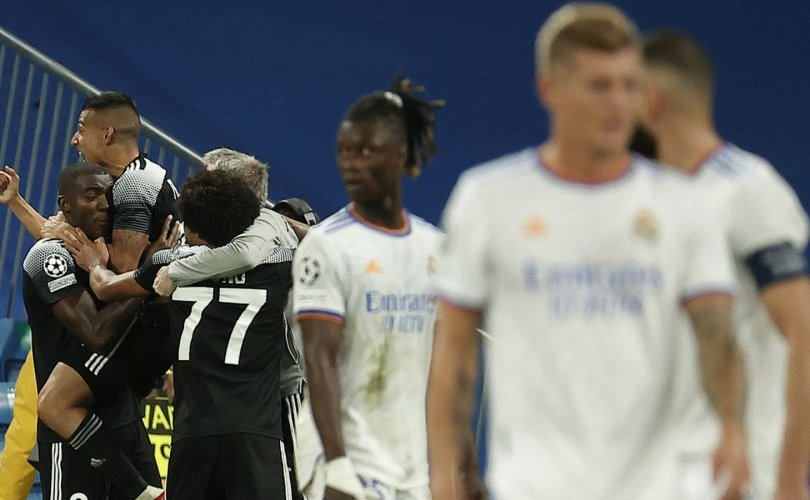"""Молдавын """"сураггүй"""" баг Реал Мадридыг хожив"""