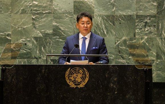 У.Хүрэлсүх: Монгол Улс энхийг эрхэмлэгч ардчилсан улс гэдгээрээ  танигдсан