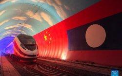 Хятад Лаосыг холбосон төмөр зам 12 сард ашиглалтад орно
