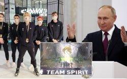 """Путин """"TI""""-д түрүүлсэн """"Spirit"""" багт баяр хүргэжээ"""