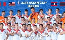 Монголын 23 хүртэлх насны баг Тайланд, Малайз, Лаостой тоглоно