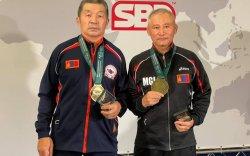Монголын тамирчид хэвтээ шахалтын ДАШТ-ийг өнгөлж байна