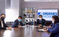 """""""Эрдэнэс Монгол"""" ХХК-ийн Гүйцэтгэх захирал Д.Хаянхярваа Дэлхийн банкны багтай уулзлаа"""