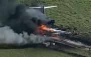 Видео: Техаст онгоц осолдож, азаар бүх зорчигч эсэн мэнд гарчээ
