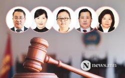 Танилц: Шүүхийн ерөнхий зөвлөлийн шүүгч гишүүд