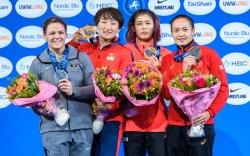 Монголын чөлөөт бөхийн ДАШТ-ий 66 дахь медалийг Э.Гантуяа авчрав