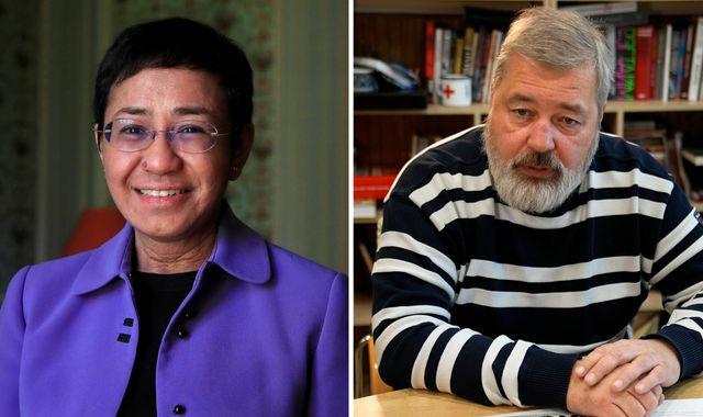 Нобелийн энх тайвны шагнал хүртсэн сэтгүүлчид