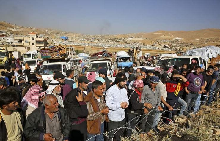 Сирийн нэг сая дүрвэгчийг эх оронд нь  буцаана