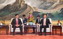 Ерөнхий сайд БХАТИХ-ын Байнгын Хорооны дарга Ли Жаньшуд бараалхав