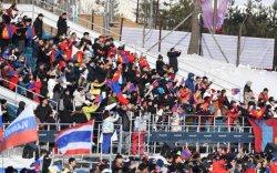 Ч.Отгонцэцэгийн уралдааныг 100 гаруй монголчууд очиж дэмжжээ