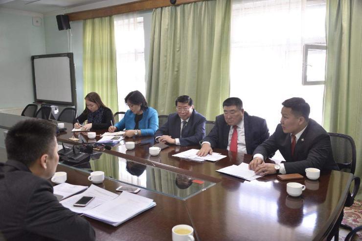 Мэргэжлийн боловсрол, сургалтын үндэсний зөвлөлийнхөнтэй уулзлаа