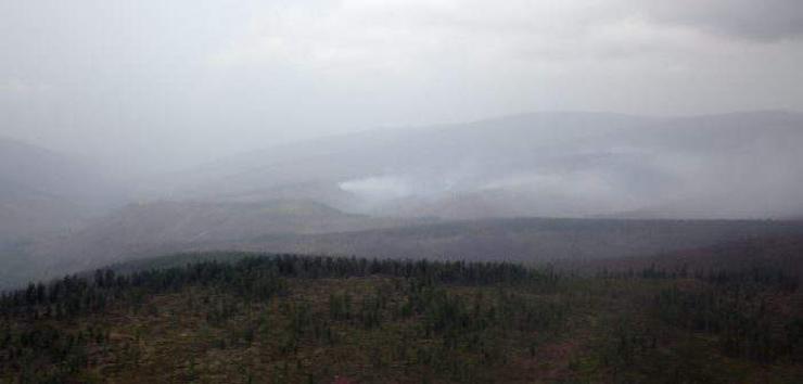 Хөвсгөл аймагт гарсан ойн түймрийг цурманд орууллаа