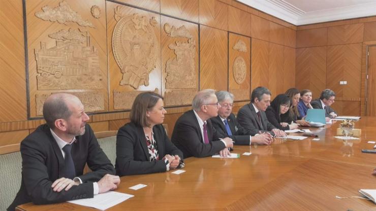 Швейцарын Холбооны Улсын Гадаад хэргийн сайдыг хүлээн авч уулзлаа