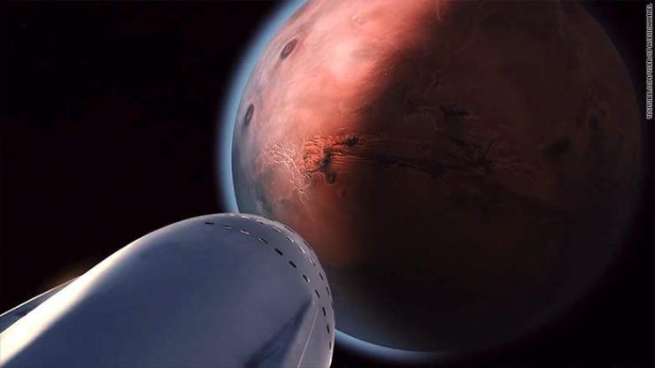 """""""Space X"""" 2019 онд Ангараг руу сансрын хөлөг илгээнэ"""