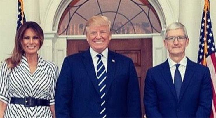 Мелания Трамп Тим Кукэд талархав