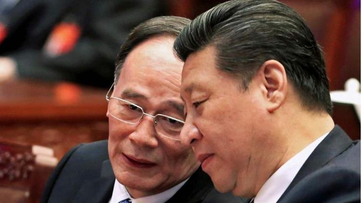Си Жинпиний баруун гар